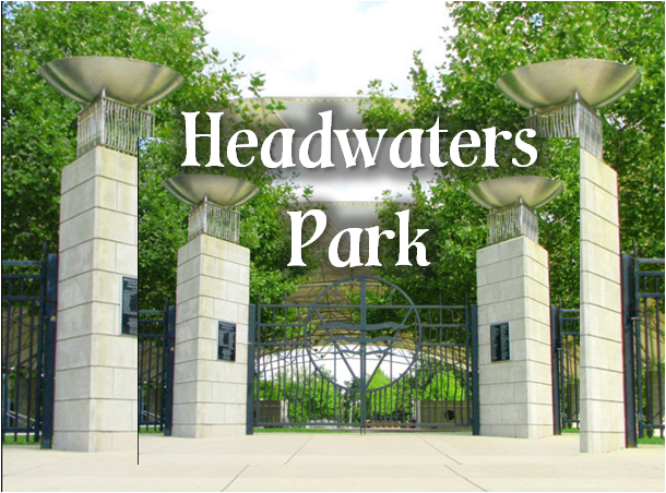 Headwaters Park and the Downtown River District Fort Wayne